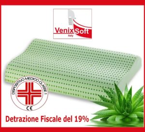 Cuscino Cervicale - Cuscino MEMORY FOAM TRASPIRANTE VENIXSOFT